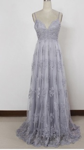 dress,exact dress except a maroon  color,lavender,lavender prom dresses,floral dress,spaghetti strap,backless,prom dress,lialic,lace,grad,prom,long dress,details,pleated,chiffon,taupe,elegant,chiffon prom dress,taupe lace dress,elegant dress,blue dress