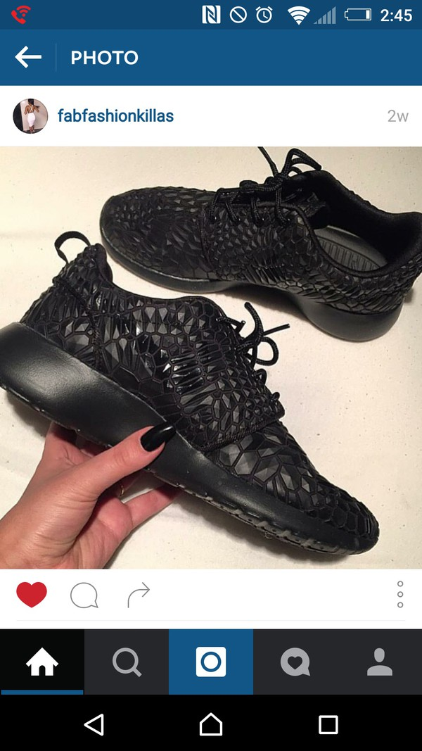 Cheap Buy Shoes: black, roshe runs, roshes, nike roshe run, nike, nike