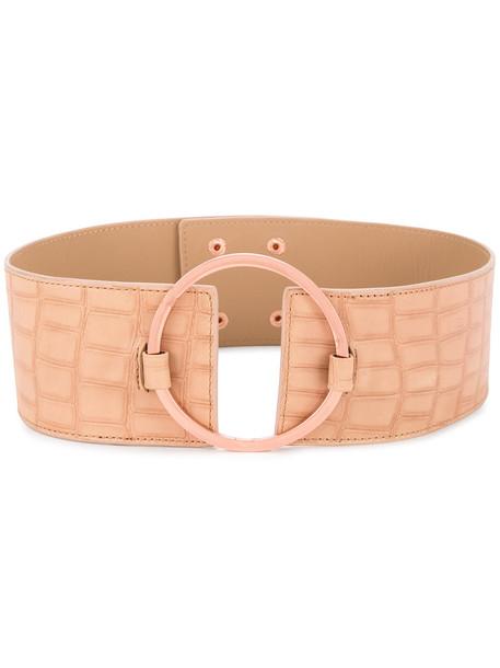 GINGER & SMART women belt leather brown