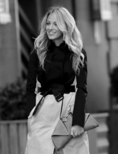 bag,clutch,leather,blake lively