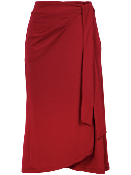 Lilly Sarti skirt women spandex red