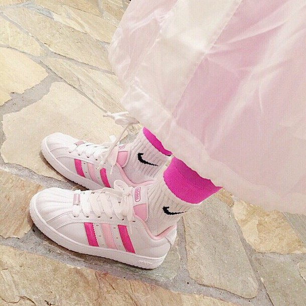 shoes cute adidas adidas shoes multicolor sneakers kawaii