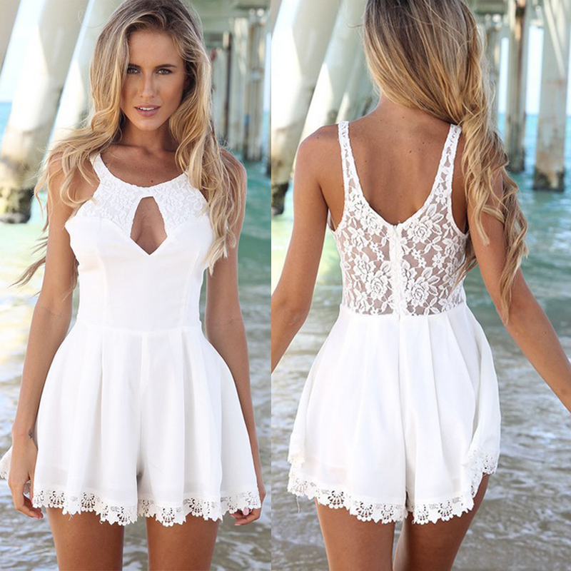 low price 2019 factory price great deals 2017 Sexy Women Celeb Lace Playsuit Party Evening Summer Ladies Dress Jumpsuit  Shorts | eBay