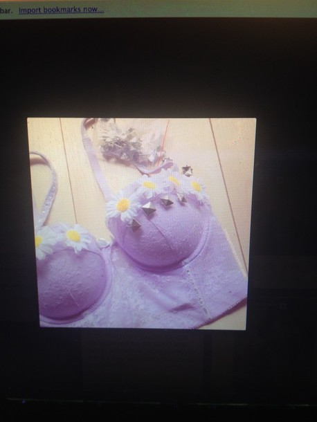 shirt purple tumblr flowers