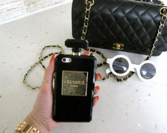 phone cover iphone iphone cover iphone case chanel iphone 4 case iphone 5 case iphone 6 case phone girly gossip girl gold