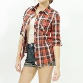 plaid,plaid shirt,shirt,button up,button up shirt,button up shirys,style,stylish,stylish shirt,tredy,trendy shirt,trendy