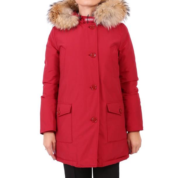 parka red coat
