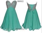 blue dress,homecoming dress,green dress