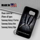 phone cover,wolverine claws marvel