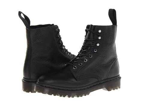 Dr. Martens Hadley 8-Tie Boot Black Inuck - Zappos.com Free Shipping BOTH Ways