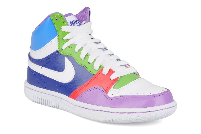 Wmns court force high nike (multicolore) : livraison gratuite de vos baskets mode wmns court force high nike chez sarenza