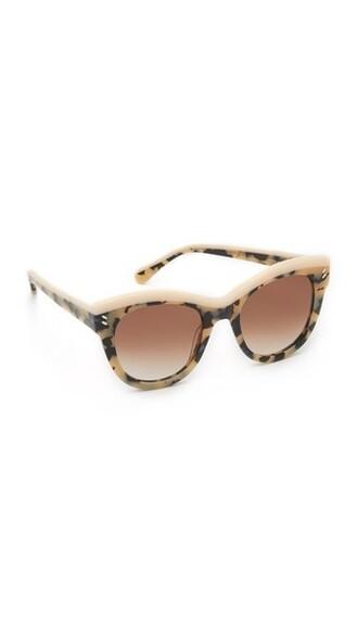 vintage sunglasses pink brown