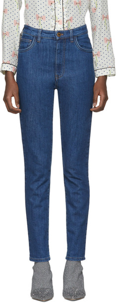 Miu Miu jeans blue