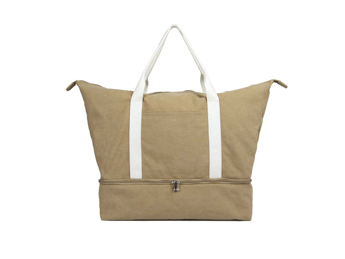 The Catalina - Canvas Tote & Weekender Travel Bag - Lo & Sons