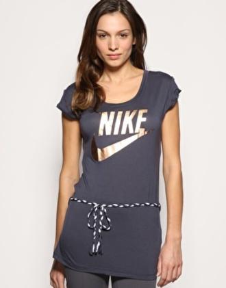t-shirt nike nikes gold tees tee shirts gray