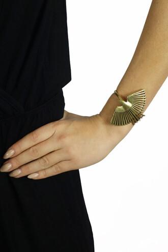 jewels gold birds bracelets festival fashion freevibrationz