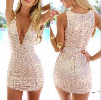 dress short dress v neck dress brillant party dress beautiful dress www.ebonylace.net ebonylacefashion