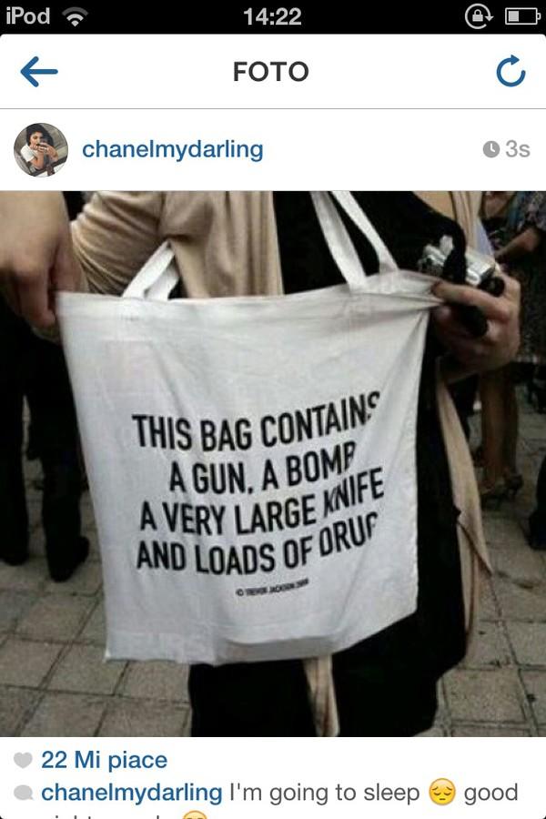 bag white joke