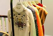 sweater,tiger,white,kenzo