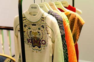 sweater tiger white kenzo