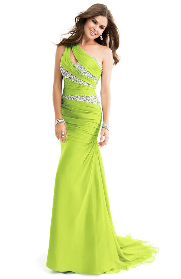 one shoulder prom dress one shoulder evening dress crystals dress party dress red carpet prom dress evening dress wedding dress bridal gown