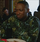 jacket,jungle,jungle print,silk,winston bishop,new girl,lamorne morris