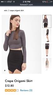 skirt,black,asymmetrical skirt,mini skirt