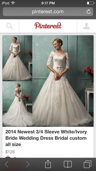wedding dress white bride dresses white dress dress lace
