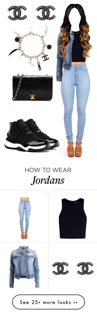 shoes black black and white jordans nike wifebeater shirt jeans dope sneakers cute easy urban school outfit lazy day high waisted jeans