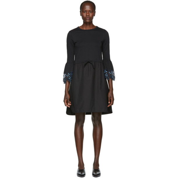 See by Chloé See by Chloé Black Detailed Cuff Dress