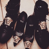 shoes,black,couple,boots,cute,lovely,elegant,black boots,matching couples