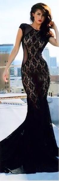 Elyssa lace luxe dress