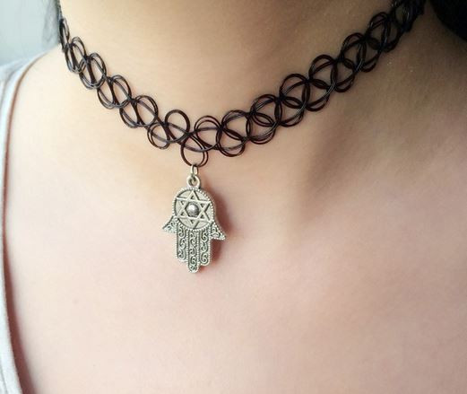 Charm Tattoo Choker