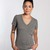 Tri-blend V-neck Tee - Heather Grey : Marine Layer