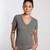 Tri-blend V-neck Tee - Heather Grey : Marine Layer