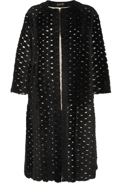 The Row | Sherfan laser-cut shearling coat | NET-A-PORTER.COM