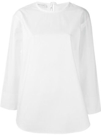 top tunic white
