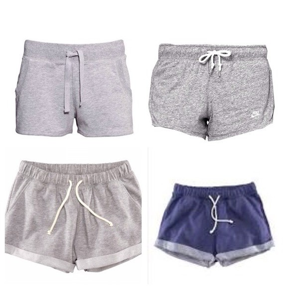gray shorts shorts fitness good