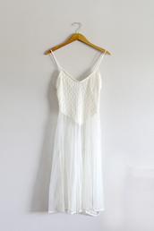 dress,white dress,sheer,maxi dress,beach dress,white,cute,cute dress,boho,white lace dress