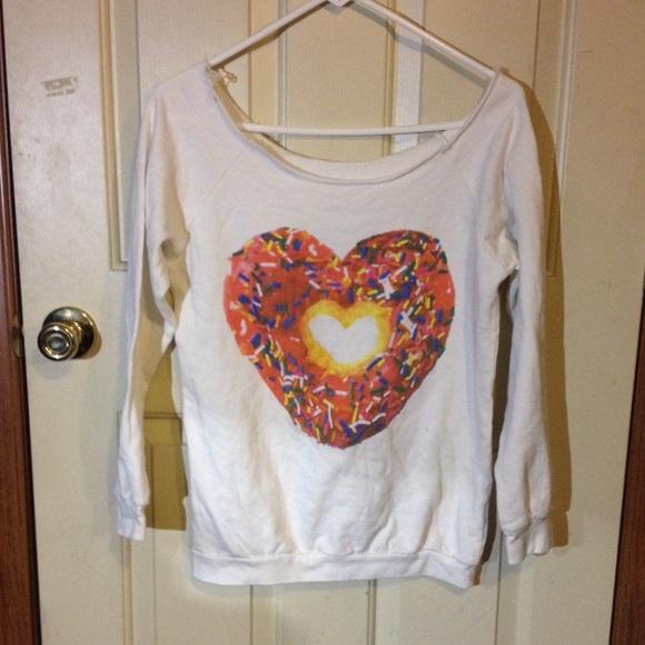 Donut swear shirt ! from randi's closet on poshmark