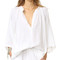 9seed marrakesh cover up top - white