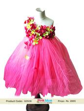 dress,flower tutu dress,baby dresses,tutu flower girl dresses,baby girl tutu dresses,birthday outfits,first birthday,kids party dress