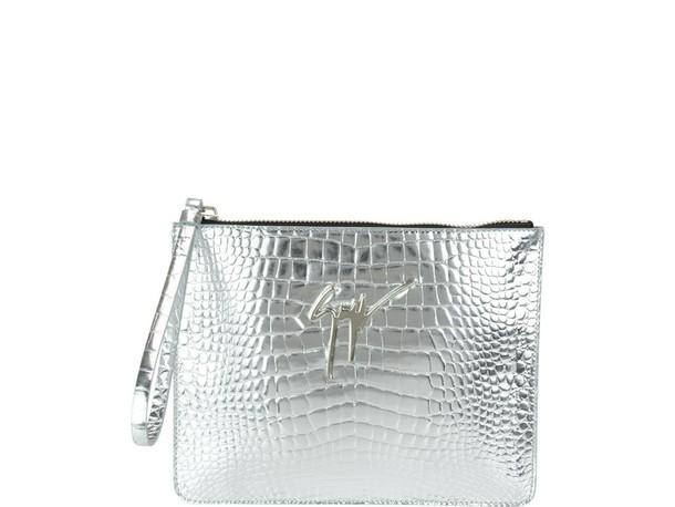 pouch silver bag
