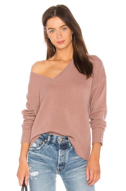 360CASHMERE sweater violet rose