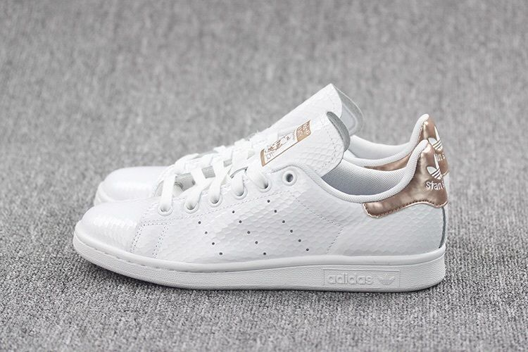 separation shoes 0ecef da594 Women's Adidas Stan Smith Copper White Rose Gold BB1434 Size 5-11 NEW  LIMITED
