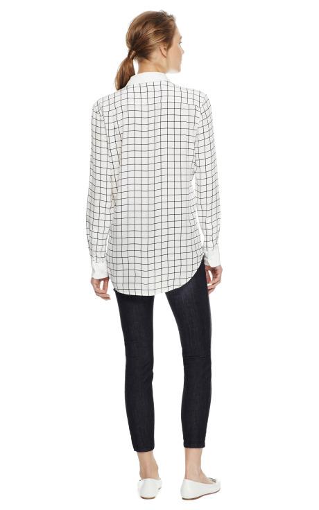 Margaux Striped Cotton Shirt by Equipment - Moda Operandi