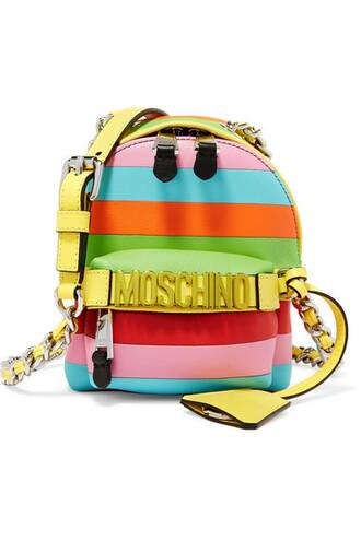 mini embellished bag shoulder bag leather pink