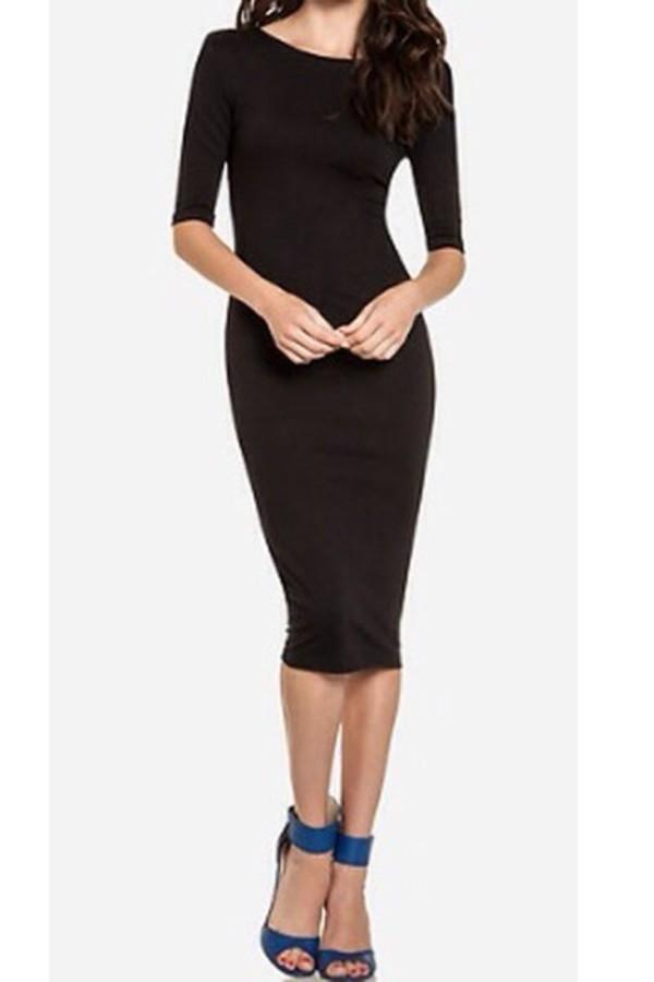 dress midi dress black black dress