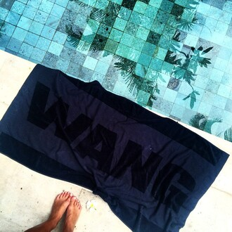 home accessory towel 2014 alexander wang beach towel