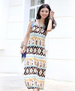 print flower 2 piece bandage dress 2014 summer new slim sexy bodycon women fashion novelty suit dress | Amazing Shoes UK